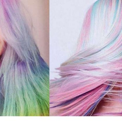 Capelli colorati Watermelon: scoppia la mania!