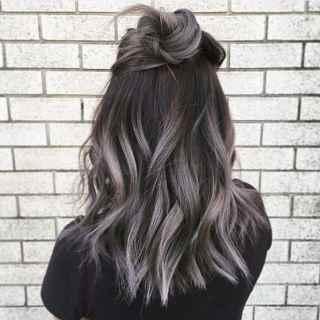 capelli-colorati-grigio-scuro-ombre