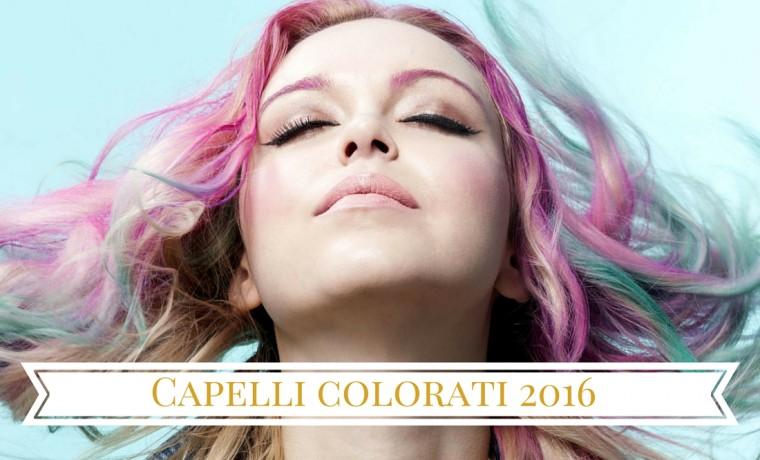 capelli colorati arcobaleno tinte pastello