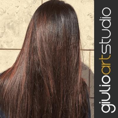 capelli colorati rossi stardust