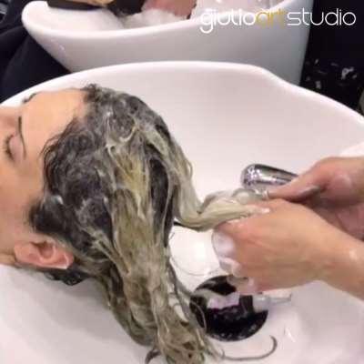 Come fare lo shampoo punte