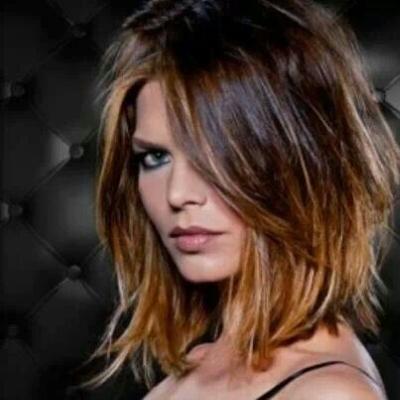 Foto shatush su capelli corti