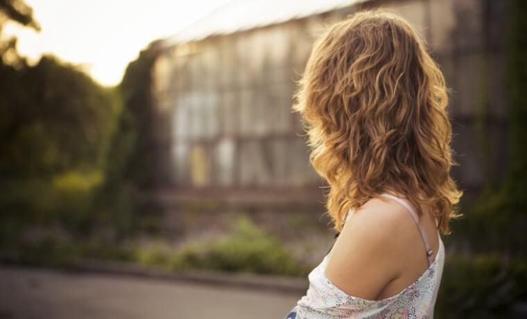 capelli mossi con metodo plopping