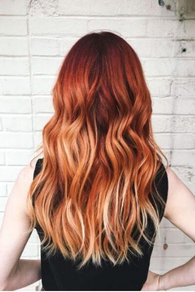 Famoso Sunset Blonde: capelli rosso rame come un tramonto | Giulio Art Studio TP97