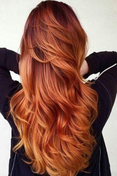 Eccezionale Sunset Blonde: capelli rosso rame come un tramonto | Giulio Art Studio ND35