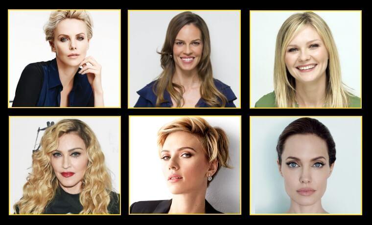 tipologie di viso star