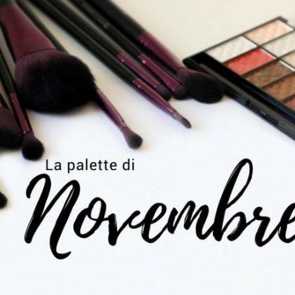 La palette di Novembre e i colori dell'autunno