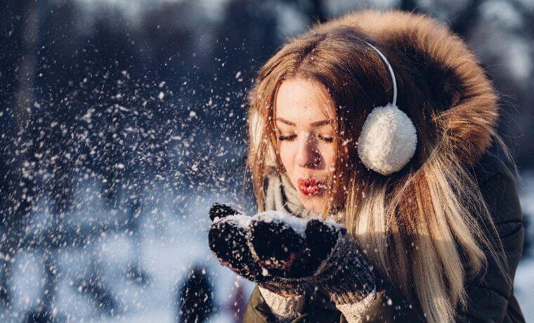 proteggere capelli neve