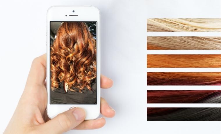 colore capelli immagini realta