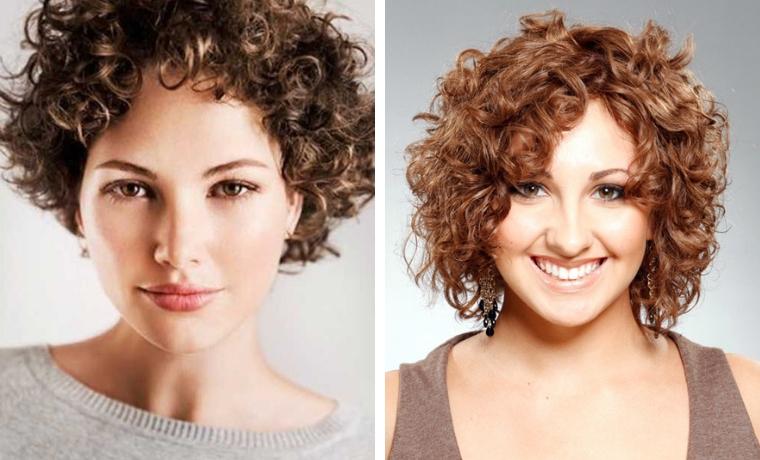 donna capello corto